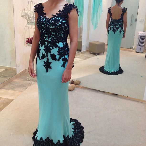 Prom Dress Black Lace Prom Dress Off Shoulder Prom Dress Blue Prom Dress Lace Dress Evening Dress Formal Prom Dresswedding Guest Prom Gowns