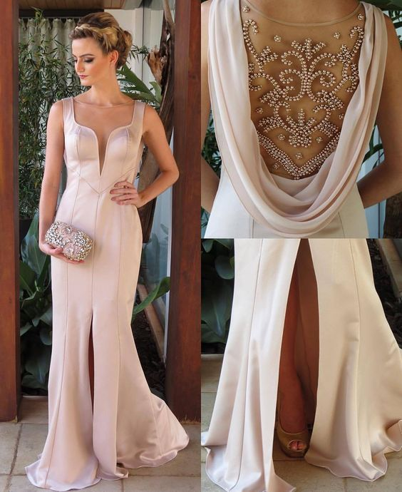 Prom dresses Prom dress,Mermaid Prom Dresses,Beaded Party Dresses,Mermaid Evening Dresses, Slit Prom Dress, Mermaid Party Dress, Long Formal Dresses, Prom Dresses 2016,Mermaid Formal Dresses,Sexy Homecoming Dresses,Long Prom Dresses