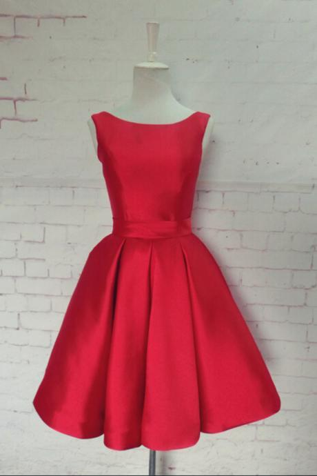 elegant red short prom dresses, backless satin prom dresses,red evening dresses , sexy formal prom dresses,dresses party evening,sexy evening gowns,formal dresses evening