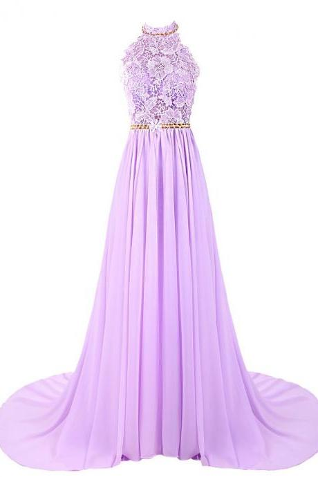Charming High Quality Appliqued Chiffon Long Prom Dresses,Formal Women Dresses,New 2017 Dresses