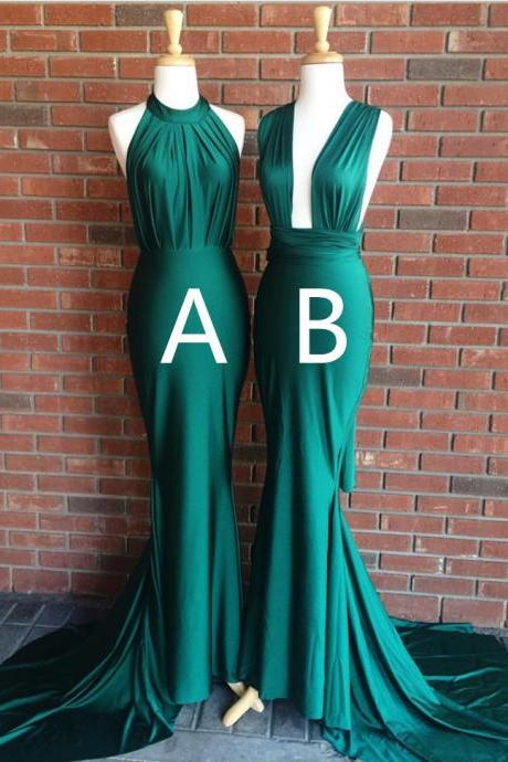 2018 Prom Dress,Sexy Prom Dress,Backless Prom Dress,High Neck Prom Dress,Mermaid Prom Dress,Sexy Party Dress,Long Prom Dress,Prom Gowns,Custom Made Evening Dress,