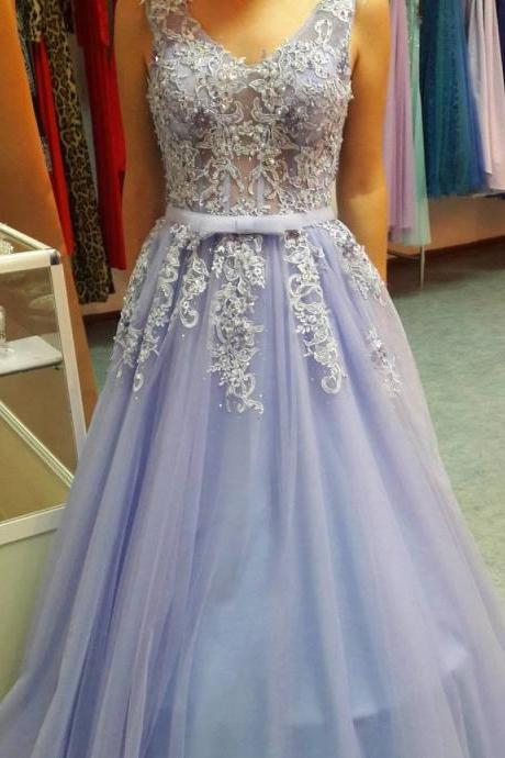Prom Dress,Sexy Elegant Prom Dresses, Sleeveless Prom Dress,Sexy Appliques Evening Dress,Long tulle Prom Dresses,Formal Dress ,High Quality Graduation Dresses,Wedding Guest Prom Gowns, Formal Occasion Dresses,Formal Dress