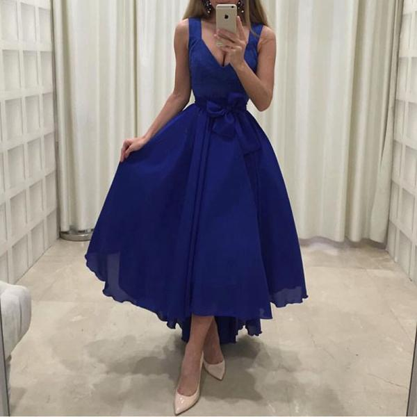 Prom Dress, Sexy Royal Blue Prom Evening Dress Party Gowns Formal Dresses,High Quality Graduation Dresses,Wedding Guest Prom Gowns, Formal Occasion Dresses,Formal Dress