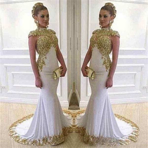 Cheap prom dresses 2017,Elegant Evening Dress,Mermaid Gown Evening Dress,Evening Dress,