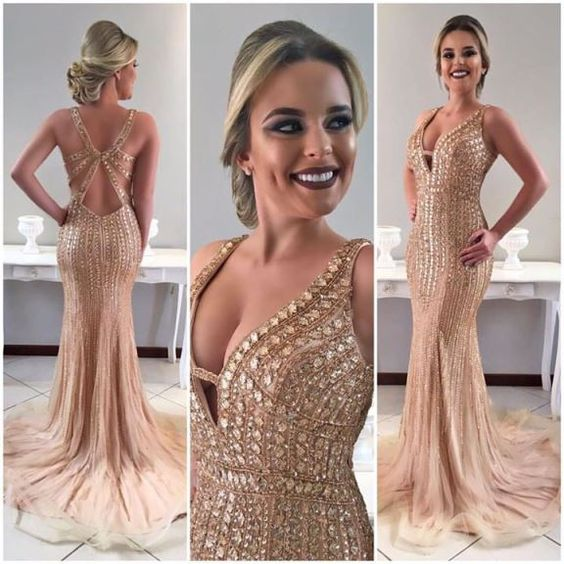 prom dresses,modest prom dresses,unique prom dresses,champagne prom dresses
