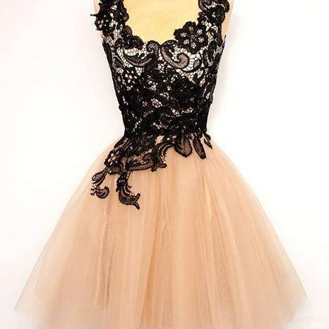 Homecoming Dresses,Lace Homecoming Dresses,Tulle Homecoming Dresses,Elegant Homecoming Dresses,Cocktail Dresses,Formal Dresses,Cheap Homecoming Dresses